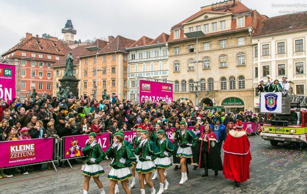 Faschingsumzug Graz 2015